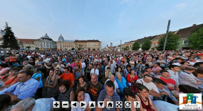 Panorame sferice realizate la concertul Ruzsa Magdi – Presser Gabor