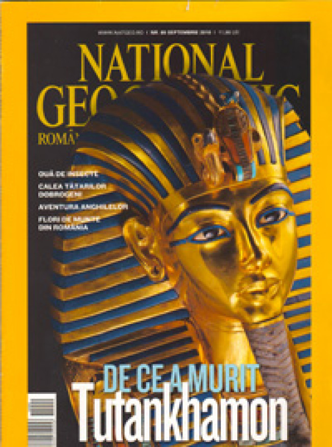 Fotografia noastra in National Geographic Romania, August 2010