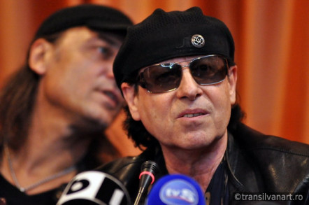 7 octombrie 2011: Conferinta de presa Scorpions