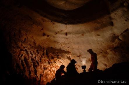 Tabara subterana de fotografie in Pestera Vantului, Suncuius