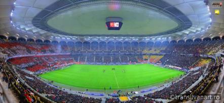 Gigapanorama cu cea mai mare rezolutie realizata la un eveniment sportiv din Romania