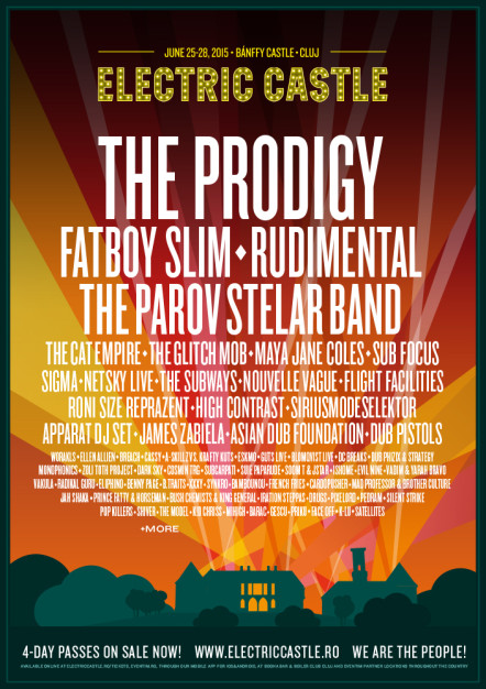 Not bad for a 3rd edition Music festival – Prodigy live at Electric Castle