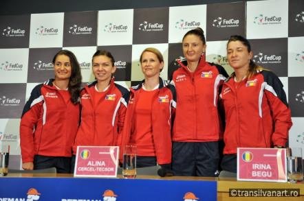 Conferinta de presa inaintea meciurilor de Tenis Romania-Germania
