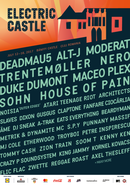 Electric Castle 2017 – Official Line-up