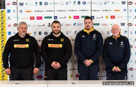Rugby – Conferinta de presa dinaintea meciului Romania – Germania