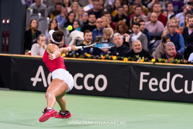 Galerie foto Fed Cup Romania vs Canada. Irina Begu vs Bianca Andreescu