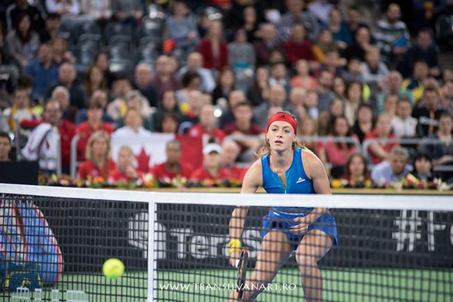 Fotografii Fed Cup Romania – Canada. Ziua 2