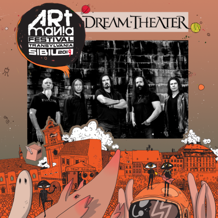 Dream Theater confirmat la ARTmania Festival 2019