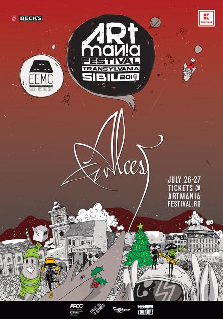 Blackgaze francez la ARTmania Festival 2019: Alcest vine pe scena din Piața Mare a Sibiului