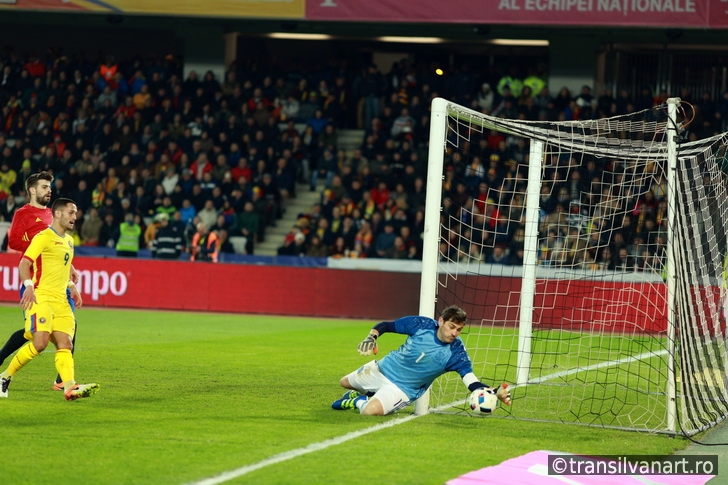 Iker Casillas, the goalkeeper of Spain during a match